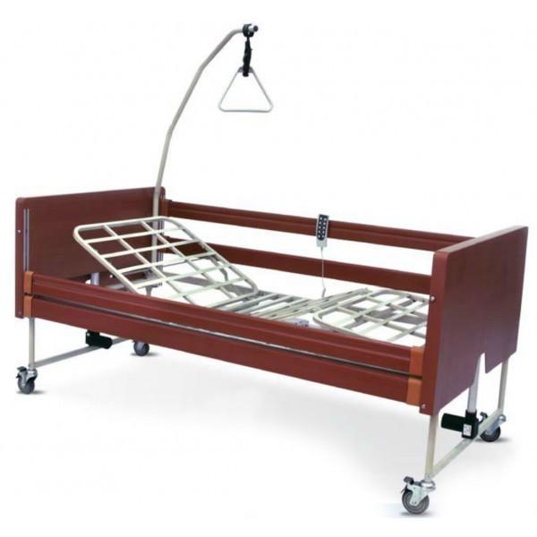 Vendita letto ortopedico elettrico in legno bongo rehastore il miglior negozio di articoli - Barre per letto anziani ...