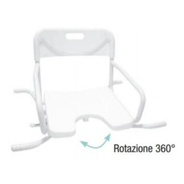 Vendita sedia girevole per vasca rehastore il miglior negozio di articoli sanitari e - Sedia girevole per vasca da bagno ...