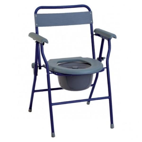 Vendita sedia wc imbottita pieghevole modello ba48 - Sedia pieghevole imbottita ...